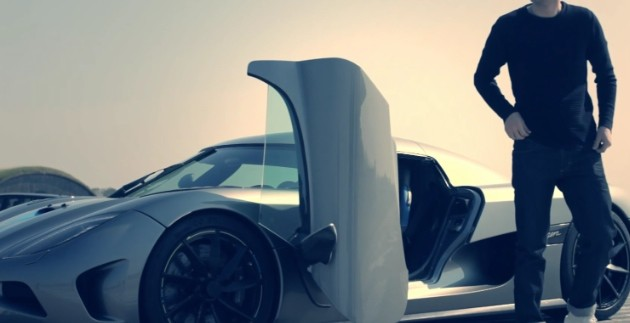 Take a turn by a Koenigsegg bureau with this glorious debate film