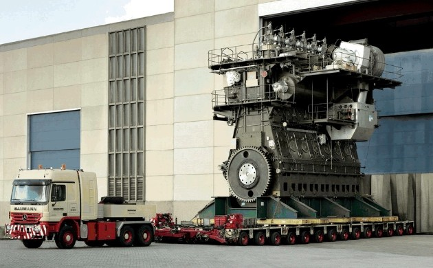 World's largest diesel engine