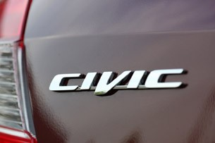 2012 Honda Civic EX Sedan badge
