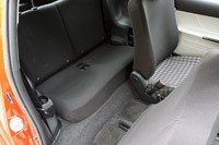 2012 Scion iQ rear seats