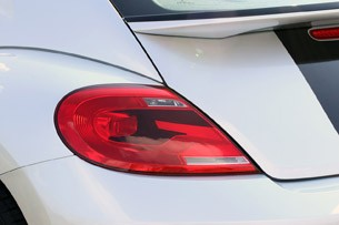 2012 Volkswagen Beetle Turbo taillights