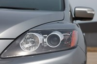 2011 Mazda CX-7 headlight