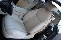 2011 Mercedes-Benz CL550 4Matic front seats