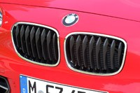 2012 BMW 1 Series Five-Door grille
