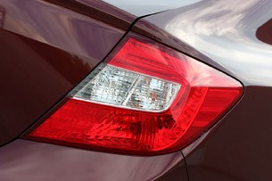 2012 Honda Civic EX Sedan taillights