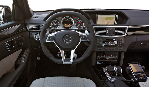 2012 Mercedes-Benz E63 AMG interior