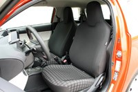 2012 Scion iQ front seats