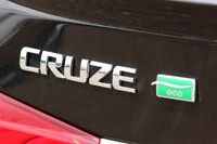 2011 Chevrolet Cruze Eco badge