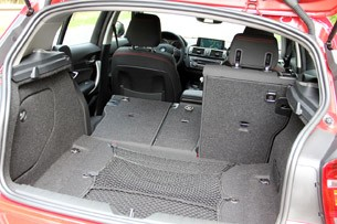 2012 BMW 1 Series Five-Door rear cargo area