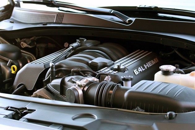 2012 Dodge Charger SRT8 engine