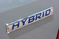 2012 Honda Civic Hybrid badge