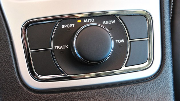 2012 Jeep Grand Cherokee SRT8 drive modes