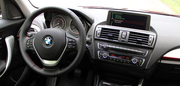 2012 BMW 1 Series Five-Door interior