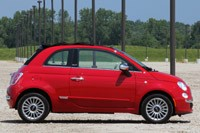 2012 Fiat 500C side view
