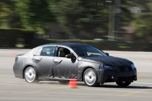 2012 Lexus GS Prototype driving