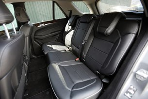 2012 Mercedes-Benz ML350 BlueTec 4Matic rear seats