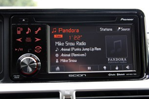 2012 Scion iQ audio system