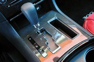 2012 Chrysler 300 SRT8 shifter