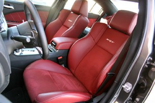 2012 Dodge Charger SRT8 front seats