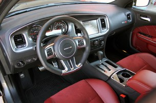 2012 Dodge Charger SRT8 interior