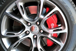 2012 Jeep Grand Cherokee SRT8 brakes