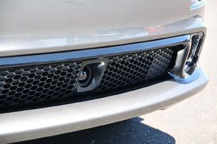 2012 Jeep Grand Cherokee SRT8 lower front grille