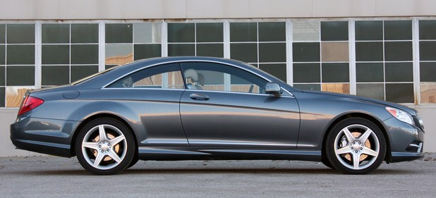 2011 Mercedes-Benz CL550 4Matic side view