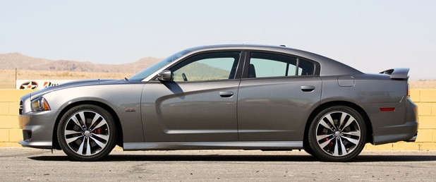 2012 Dodge Charger SRT8 side view