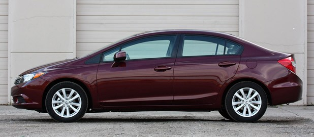 2012 Honda Civic EX Sedan side view