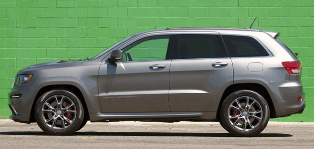 2012 Jeep Grand Cherokee SRT8 side view