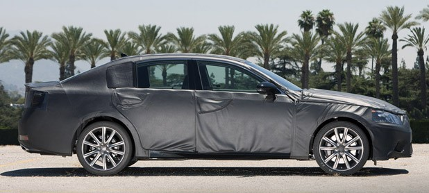 2012 Lexus GS Prototype side view