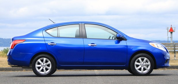 2012 Nissan Versa side view