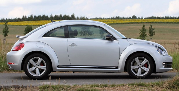 2012 Volkswagen Beetle Turbo side view