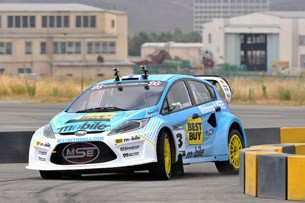 Marcus Grnholm's Ford Fiesta RallyCross