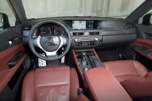 2012 Lexus GS Prototype interior