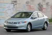 2012 Honda Civic Hybrid driving