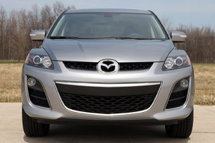 2011 Mazda CX-7 front view
