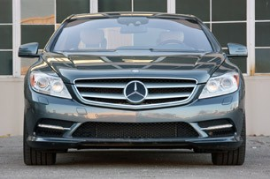2011 Mercedes-Benz CL550 4Matic front view