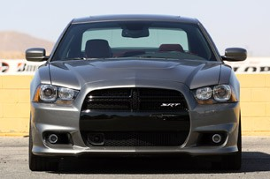 2012 Dodge Charger SRT8 front view