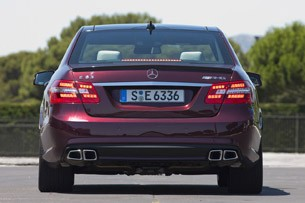 2012 Mercedes-Benz E63 AMG rear view