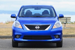 2012 Nissan Versa front view