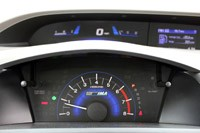 2012 Honda Civic Hybrid gauges