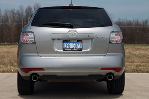2011 Mazda CX-7 rear view