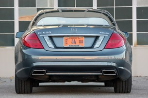 2011 Mercedes-Benz CL550 4Matic rear view