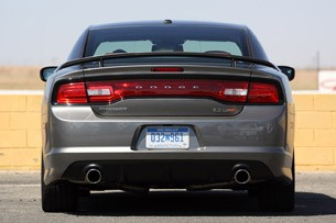 2012 Dodge Charger SRT8 rear view