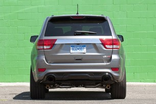 2012 Jeep Grand Cherokee SRT8 rear view