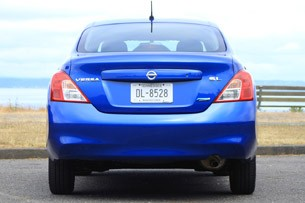 2012 Nissan Versa rear view