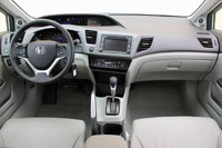 2012 Honda Civic Hybrid interior