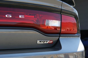 2012 Dodge Charger SRT8 taillights