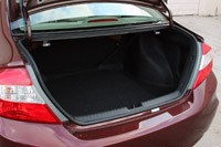 2012 Honda Civic EX Sedan trunk